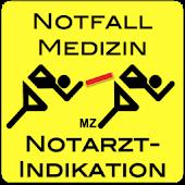 NotfallApp Indikat. Notarzt MZ