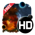 UR 3D Galaxy Live Wallpaper icon