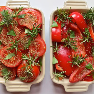 Roast Tomato and Red Pepper Soup Recipe