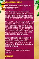 Screenshot of VolleyBall
