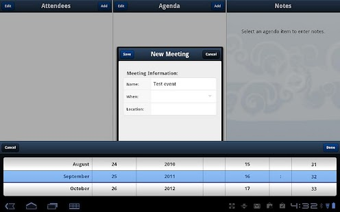 Meeting Notes (SALE) - screenshot thumbnail