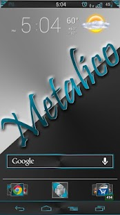 CM / AOKP Azuro Metalico Free - screenshot thumbnail