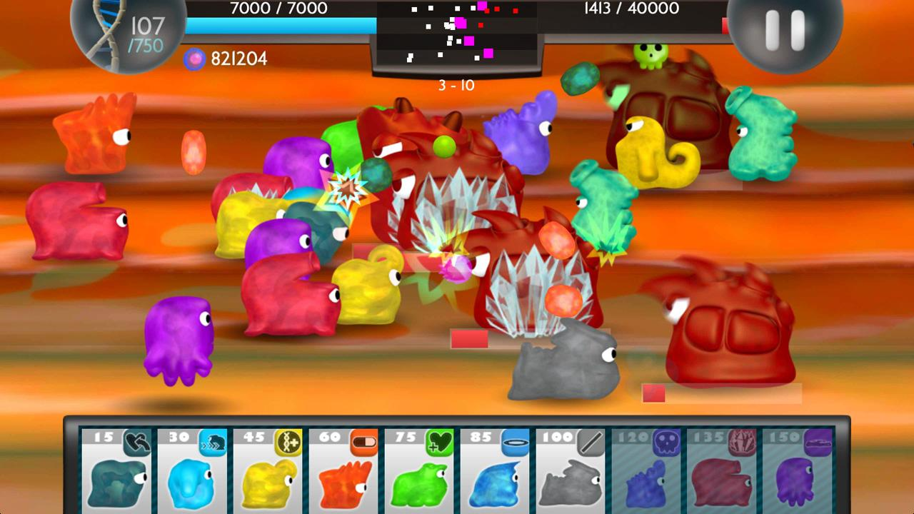Germ Defense Plague Wars - screenshot