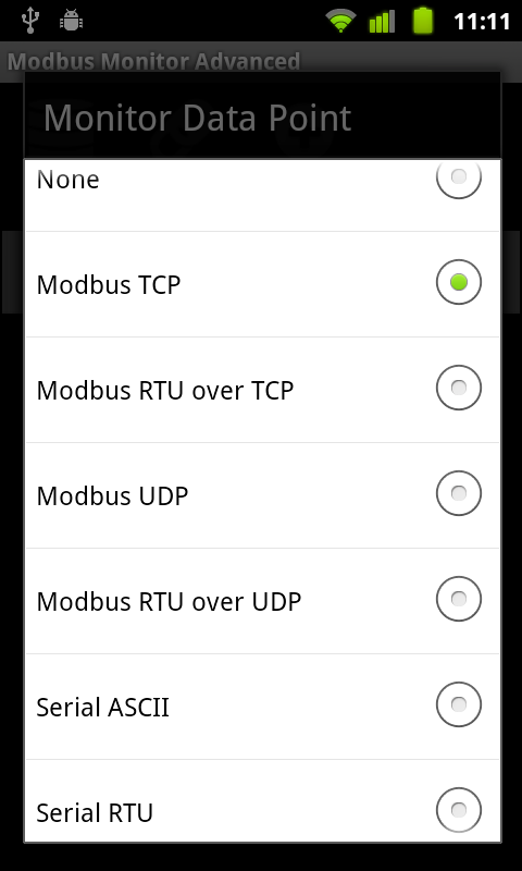 Modbus Monitor Advanced- screenshot