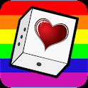Dés coquins Gay et Lesbienne logo