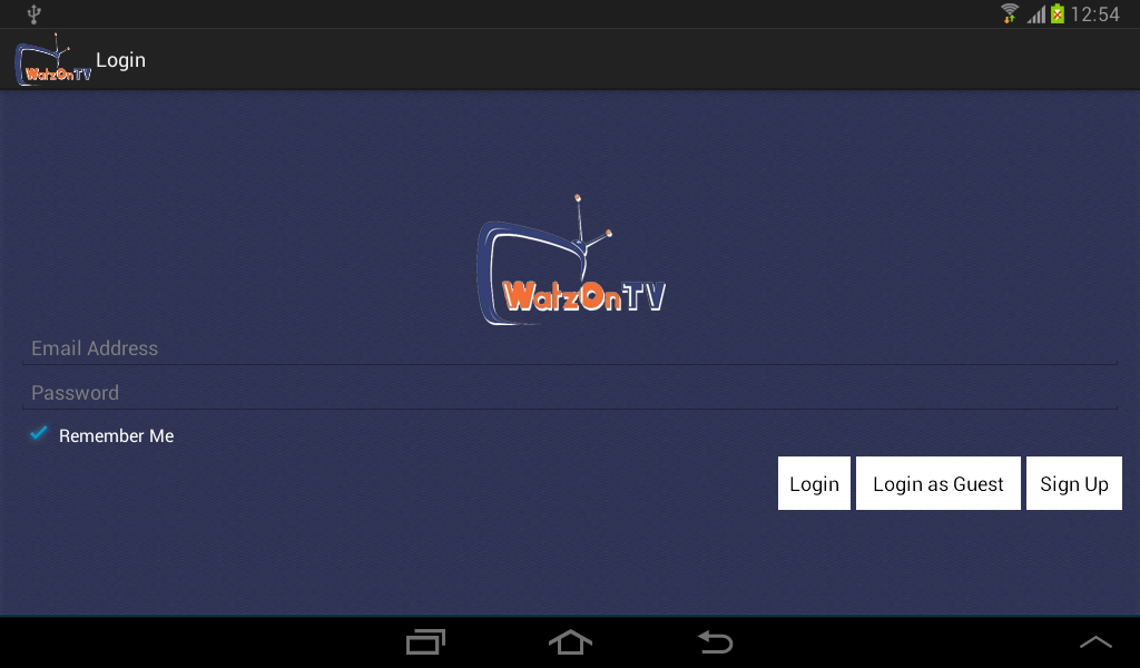 WatzOnTV - screenshot