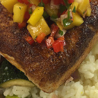 Pan Seared Cajun Mahi Mahi