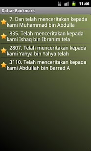 Hadits Muslim in Bahasa- screenshot thumbnail