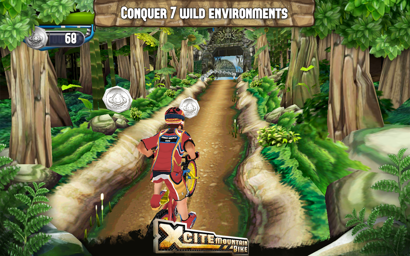 Xcite Mountain Bike - screenshot