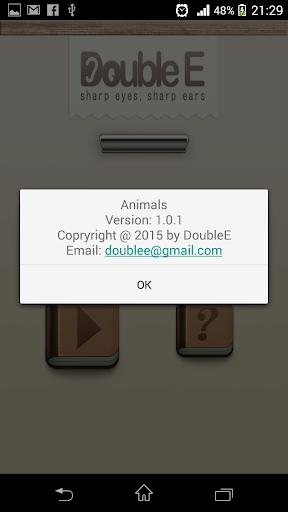 DoubleE - Animals 1.0.1 screenshots 7