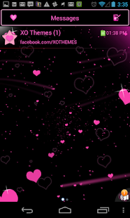 Pink Hearts Complete 4 Themes- screenshot thumbnail