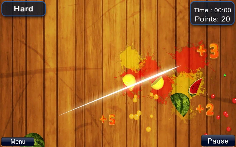 Cut fruits game - Cut The Fruit Free Screenshot