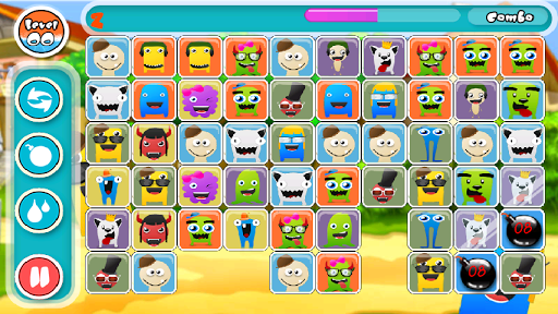 Cute Monsters Match Link Game