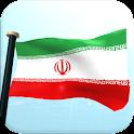 Iran Flag 3D Live Wallpaper icon