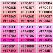 Color Chart (RGB)