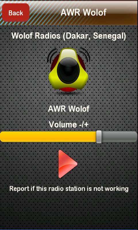 Wolof Radio Wolof Radios- screenshot