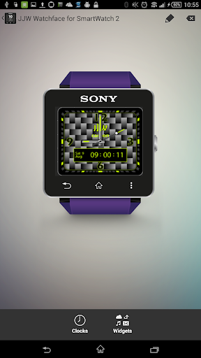 JJW Carbon Watchface 1 for SW2