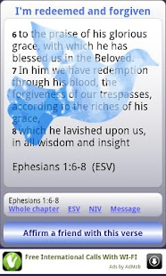 Identity in Christ Daily Bible - screenshot thumbnail
