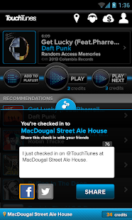 TouchTunes - screenshot thumbnail