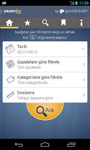 Köşe Yazarları - Yazaroku.Com- screenshot thumbnail