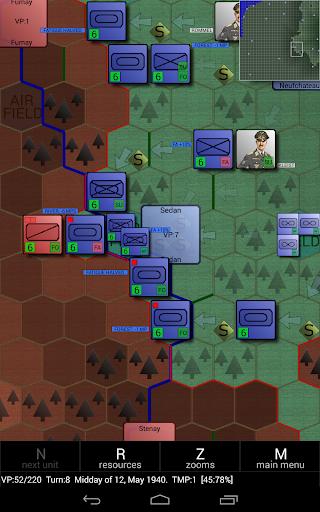 Игра Invasion of France 1940 для планшетов на Android