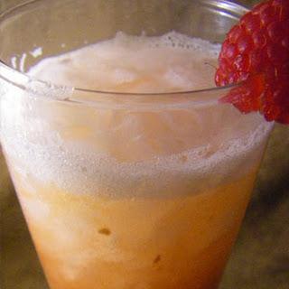Peach and Raspberry Slush