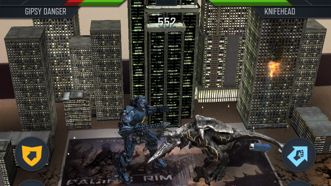 PACIFIC RIM: KAIJU BATTLE - screenshot