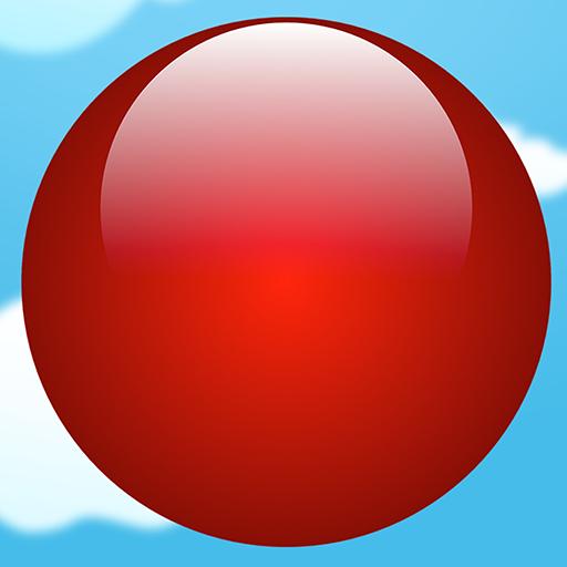 冒险のクレイジー弾むボール LOGO-記事Game