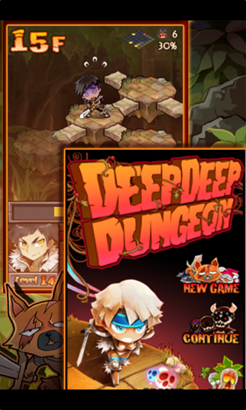Deep Deep Dungeon - screenshot