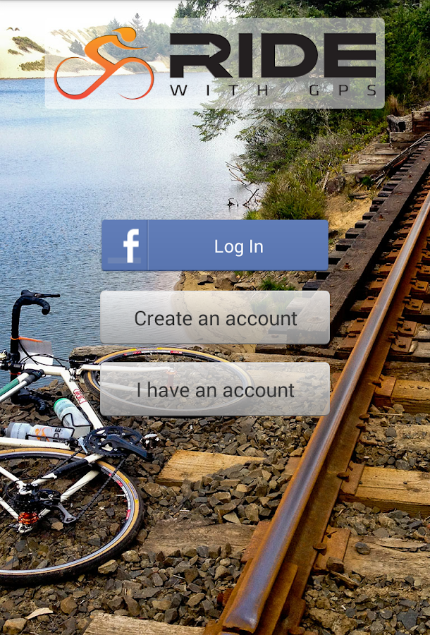 Ride with GPS - Bike Computer- screenshot