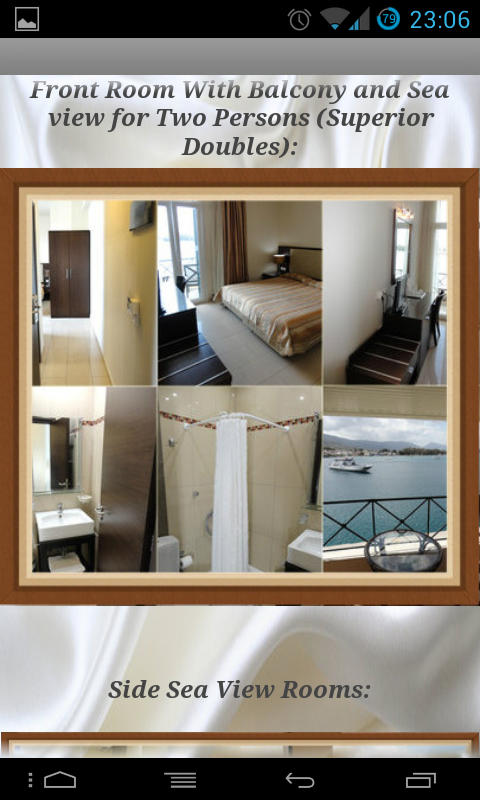 Manessi Hotel Poros- screenshot