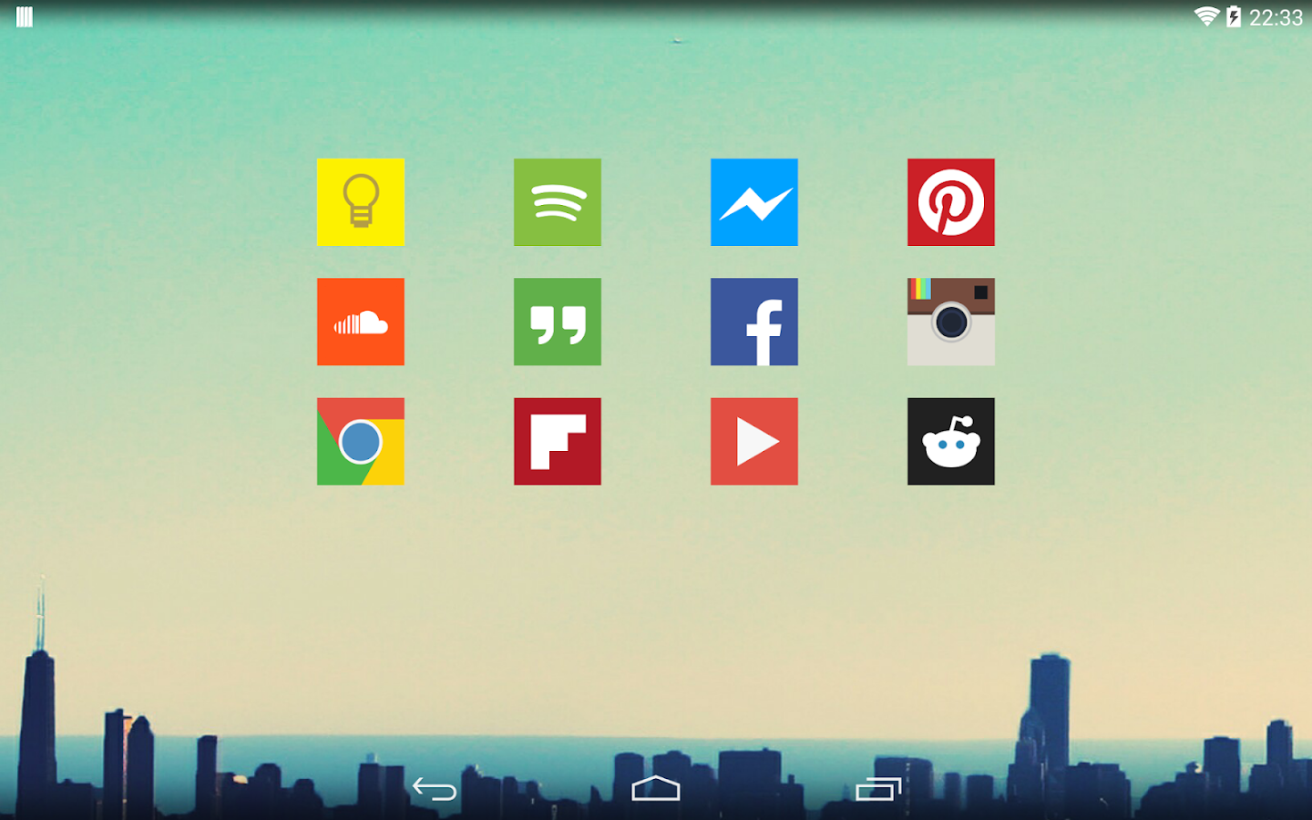 Square Icon Pack- screenshot