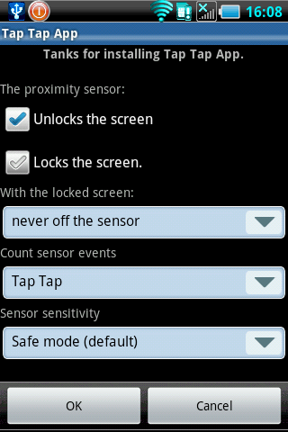 Tap Tap App  ( Screen On-Off )- screenshot