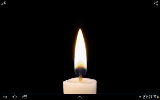 Screenshot of Candle Live Wallpaper