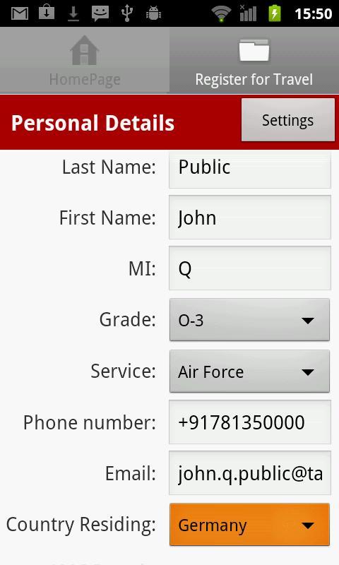 MilSpaceA- screenshot