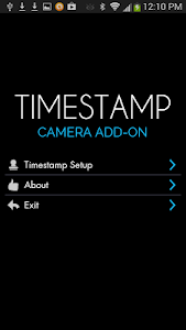 Camera Timestamp Add-on v2.06