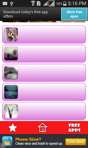 玩免費生活APP|下載اجمل صور تحت المطر app不用錢|硬是要APP