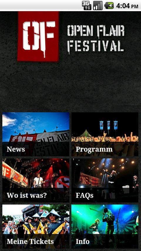 Open Flair- screenshot