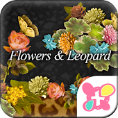★FREE THEMES★Flowers & Leopard