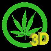 Marijuana 3D LWP Free