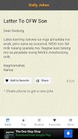 Screenshot of Pinoy Jokes