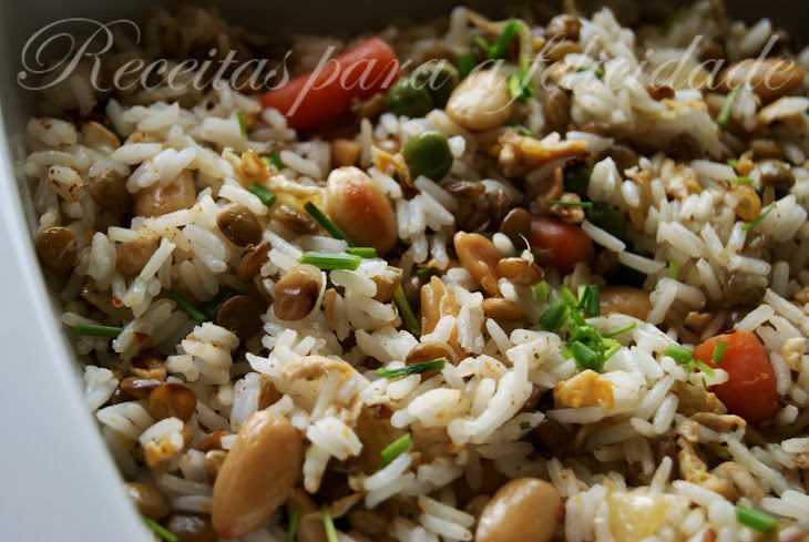 Fried Jasmine Rice with Vegetables Recipe