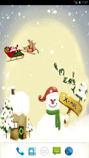 Christmas Snow LWP paid