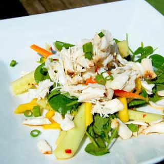 Thai Crab and Mango Salad.
