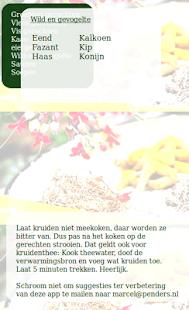 Kruidenwijzer - screenshot thumbnail