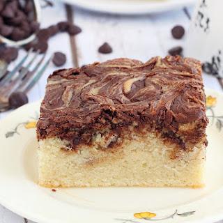 Chocolate Vanilla Cake.