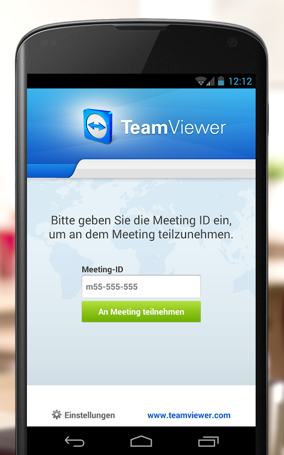 TeamViewer for Meetings - screenshot