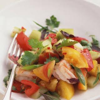Thai-Style Tomato and Shrimp Salad.