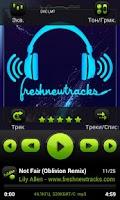 Screenshot of PowerAmp FreshGreen Skin