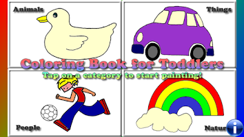 Screenshot of Coloring Book for Toddlers LT